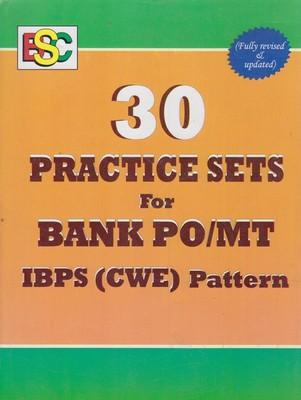 30 Practice Sets For Bank PO / MT IBPS (CWE) Pattern by BSC