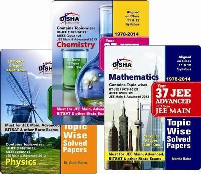 37 Years IIT  JEE Advanced + 13 Years JEE Main Topic Wise Solved Papers  (Physics / Chemistry / Mathematics) (English) 11th Edition by Deepak Agarwal, O P Agarwal
