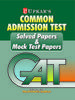 Cat Solved Papers And Mock Test Papers (English) by