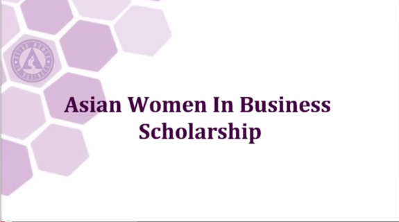 Asian Women in Business Scholarship (AWIB) 2015