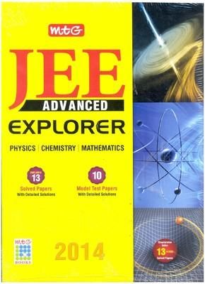 JEE Advanced Explorer Physics/Chemistry/Mathematics (English) by MTG Editorial Board