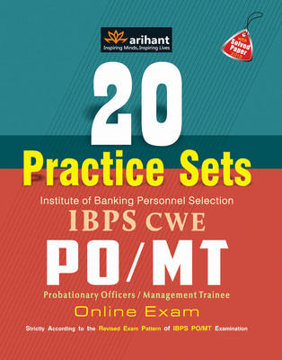 20 Practice Sets IBPS CWE PO/MT Online Exam (English) 5th  Edition by V S Srivastava
