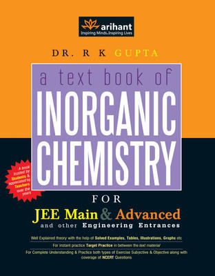 Textbook of Inorganic Chemistry for JEE Main & Advanced and Other Engineering Entrances (English)
