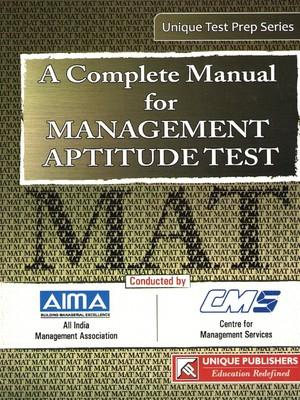A Complete Manual for Management Aptitude Test (English) by J K Chopra