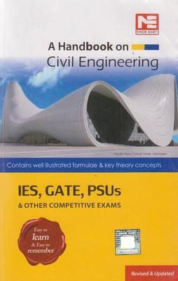 A Handbook on Civil Engineering - IES, GATE, PSUs & Other Competitive Exams (English) 1st Edition by Made Easy