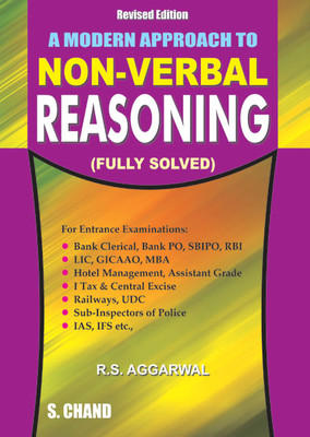 A MODERN APPROACH TO NON VERBAL REASONING (English) 1st Edition by R S Aggarwal