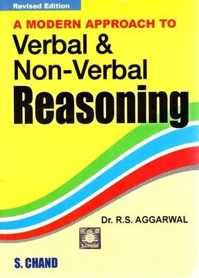 A Modern Approach To Verbal & Non-Verbal Reasoning (English) Revised Edition by R S Aggarwal