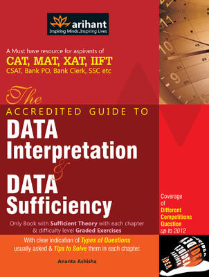 Accredited Guide to Data Interpretation and Data Sufficiency PB (English) by Ashisha A