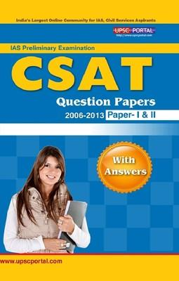 B07IAS PRE: GENERAL STUDIES & CSAT QUESTION PAPERS WITH ANSWERS (20062013) (English) 3rd  Edition by Editorial Board