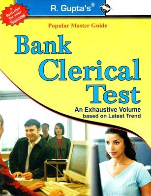 Bank Clerical Test Guide (English) 01 Edition by Anjani A Gupta