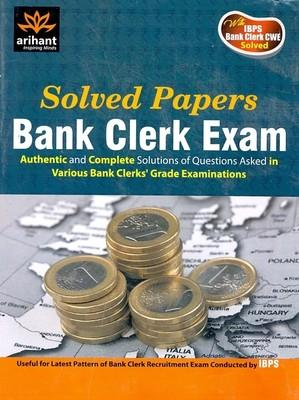Bank Clerk Exam Solved Papers Up to 2011 (English) 1st Edition by Expert Compilations