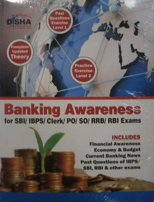 Banking Awareness for Bank Clerk / PO / SO / RRB / RBI Exams (English) 1st  Edition by Disha Experts