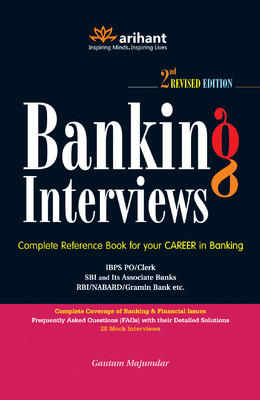 Banking Interviews: IBPS PO/Clerk (English) by Gautam Majumdar