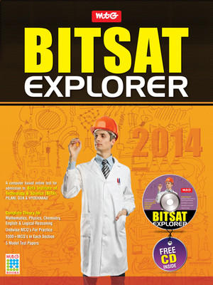 BITSAT Explorer 2014 (With CD) (English) by MTG Editorial Board