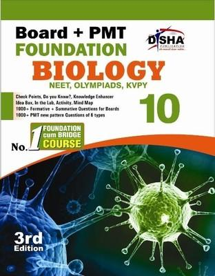 Board + PMT Foundation Biology (Class 10) (English) 3rd Edition by Disha Experts