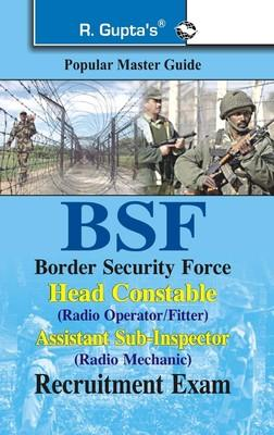 BSF Head Constable Radio Opt Guide (English) 1st  Edition by RPH Editorial Board