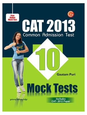 CAT 2013 - Mock Tests (English) 2nd  Edition by GKP