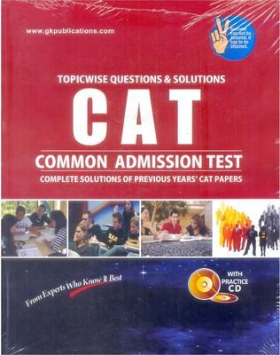 CAT Common Admission Test (Topicwise Analysis & Solution) (English) 4th  Edition by Gkp