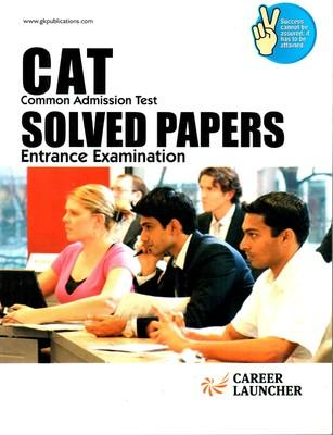 CAT Common Admission Test Solved Papers Entrance Examination (English) 4th  Edition by G K P
