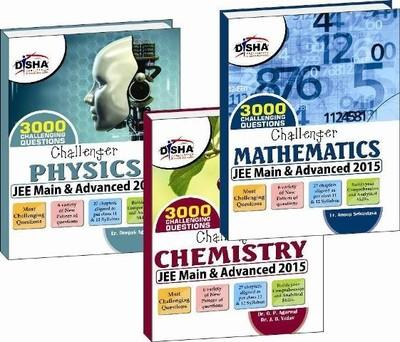 Challenger Physics / Chemistry / Mathematics - JEE Main & Advanced 2015 (Set of 3 Books) (English) 10th Edition by Anoop Srivastava, O P Agarwal, Deepak Agarwal, J B Yadav