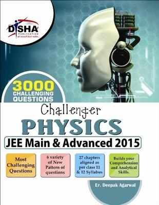 Challenger Physics - JEE Main & Advanced 2015 (English) 10th Edition by Deepak Agarwal