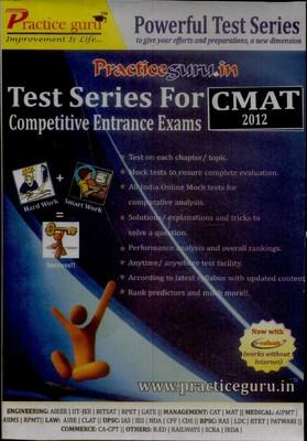 CMAT-2012 Test Series For Competitive Entrance Exams-English by Practice Guru