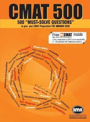 CMAT 500 : Must - Solve Questions (English) 1st Edition by IMS