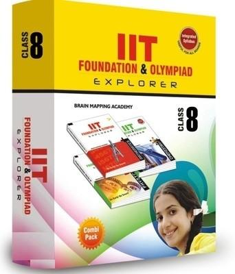 Combipack IIT Foundation (Set of 6 Books) (English) by Brain Mapping Academy