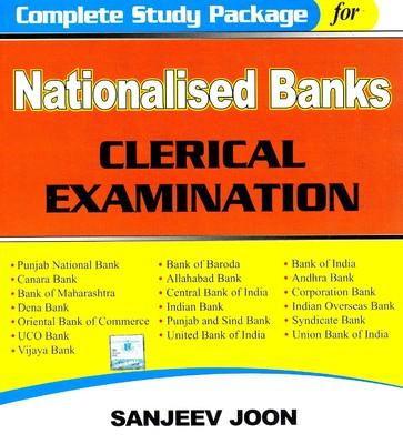 Complete Study Package for Nationalised Banks Clerical Examination (English) 1st Edition by Sanjeev Joon