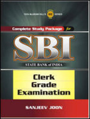 Complete Study Package for SBI (Clerk Grade Examination) (English) 1st Edition by Sanjeev Joon