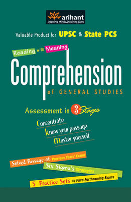 Comprehension of General Studies : Assessment in 3 Stages (English) 1st Edition by Arihant Experts