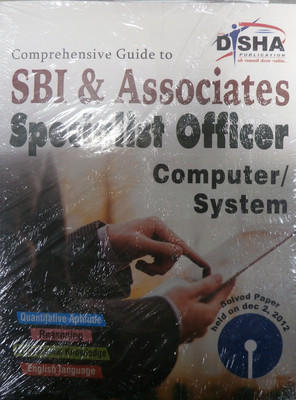 Comprehensive Guide to SBI & Associates Specialist Officer - Computer / System (English) 1st Edition by Disha Experts