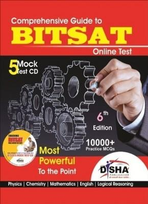 Comprehensive Guide to BITSAT Online Test (With CD) : Most Powerful to the Point (English) 6th  Edition by Disha Experts