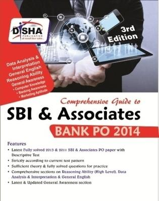 Comprehensive Guide to SBI & Associates Bank PO 2014 (English) 3rd  Edition by Disha Experts