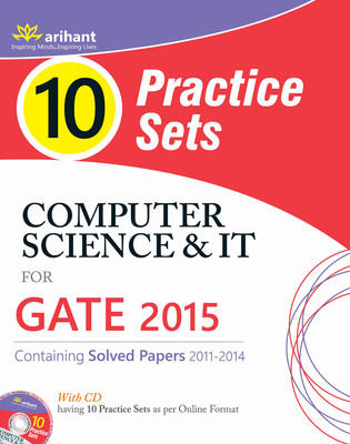 Computer Science & IT for GATE 2015 (With CD) : 10 Practice Sets (English) 2nd  Edition by Ranshu Dwivedi