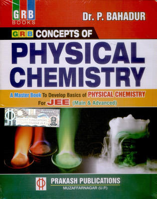 Concepts of Physical Chemistry For JEE (English) 8th  Edition by Bahadur P