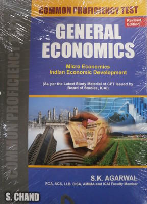CPT GENERAL ECONOMICS (English) 4th Edition by S K Aggarwal