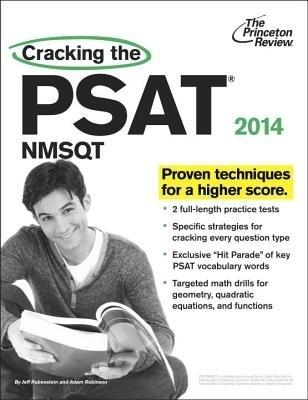 Cracking the PSAT/NMSQT with 2 Practice Tests, 2014 Edition (English) by Princeton Review