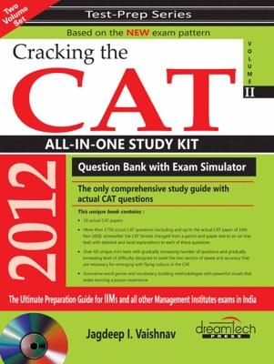 Cracking The CAT All-In-One Study Kit With CD (Volume - 2) (English) by Jagdeep I Vaishnav