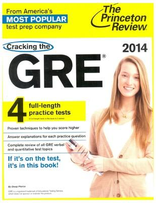 Cracking the GRE with 4 Practice Tests, 2014 Edition (English) by Princeton Review