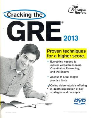 Cracking the GRE with DVD, 2013 Edition (English) by Princeton Review