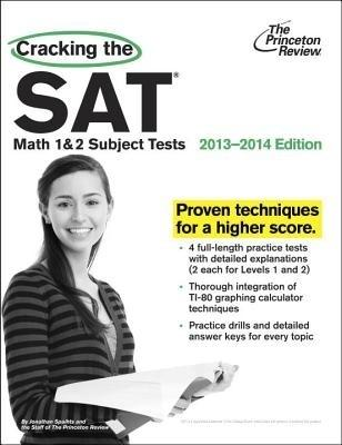 Cracking the SAT Math 1 & 2 Subject Tests, 2013-2014 Edition (English) by Princeton Review