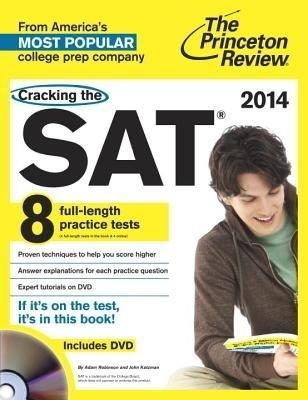 Cracking the SAT with 8 Practice Tests & DVD, 2014 Edition (English) by Princeton Review