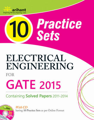 Electrical Engineering for GATE 2015 (With CD) : 10 Practice Sets (English) 2nd  Edition by Ankit Goel