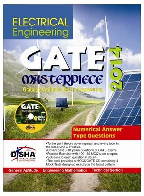 Electrical Engineering GATE Masterpiece 2014 with CD (English) 1st Edition by Disha Experts