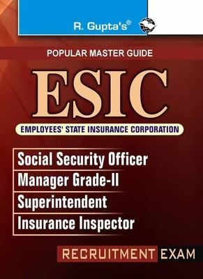 ESIC Insurance Inspector/Managers Guide (English) by RPH Editorial Board
