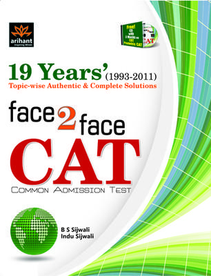 Face 2 Face CAT Common Admission Test: 19 Years