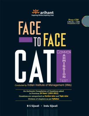 Face To Face CAT Common Admission Test by