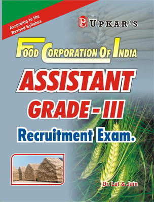 Food Corporation of India Assistant Grade - III Recruitment Exam (English) 1st Edition by Amp, Jain, Lal