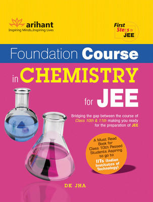 Foundation Course in Chemistry for JEE (English) 6th  Edition by DK Jha